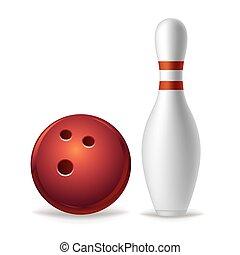 Bowling-Ausrüstung
