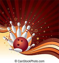 Bowling-Hintergrund
