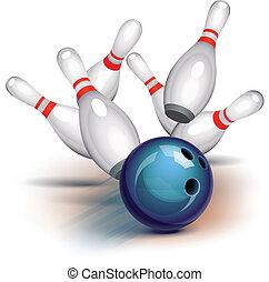 Bowling-Spiel (Ansicht)