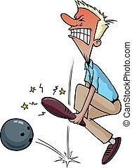 Bowlingverletzung