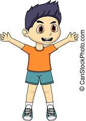 Boy Cartoon.