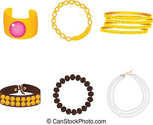 Bracelets Accessoires Sammlung.