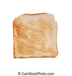 Brauner Toast.