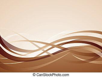 brauner, vektor, hintergrund