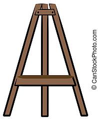 Braunes Holzhandwerk oder Kunsthandwerk