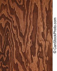 Braunes Plywood abstraktes Holz
