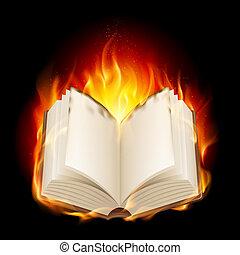 Brennendes Buch