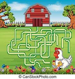 Brettspiele mit landwirtschaftlichem Hintergrund.
