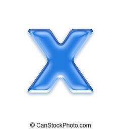 brief, -, x, hintergrund, freigestellt, aqua, weißes