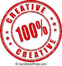 briefmarke, grunge, kreativ