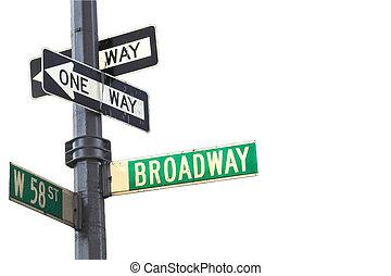Broadway-Schild