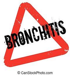 Bronchitis Gummistempel