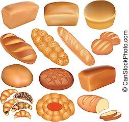 Brot und Weißbrot