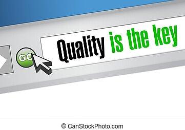 browser, begriff, qualität, schlüssel, zeichen