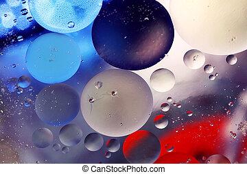 Bubbles in Wasser
