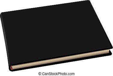 Buchalbum-Black Cover.