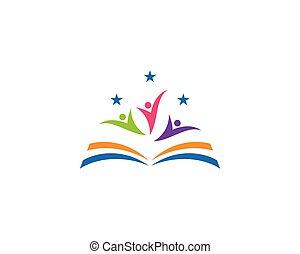 Buche Logo-Vorlage.