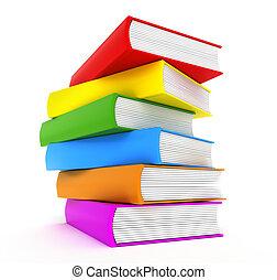 Buchen Regenbogen über weiß