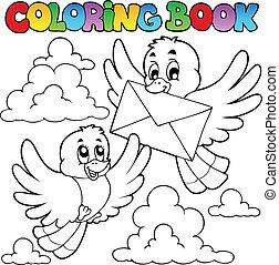 Buchvögel mit Umschlag