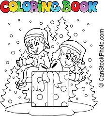 Buchweizen-Weihnachts-Elfs-Thema 2