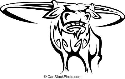 Buffalo Maskottchen