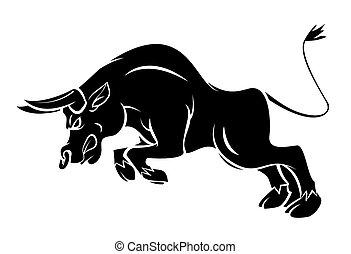 Bull Tattoo.