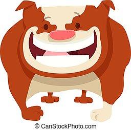 Bulldog-Dog-Trickfilm.