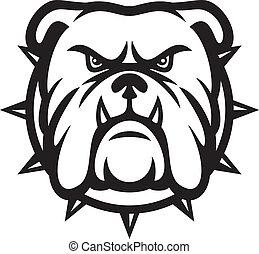 Bulldog-Kopf.