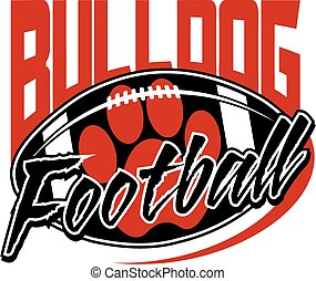 bulldogge, fußball