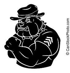 bulldogge, sicherheit