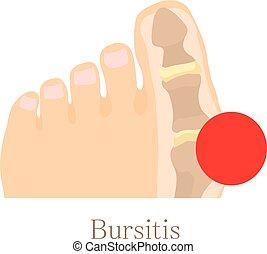 Bursitis Ikone, Zeichentrickfilm