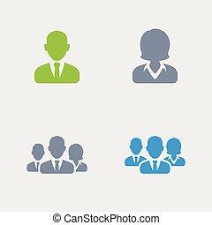 Business Avatare - Granit Icons.
