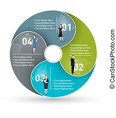 Business Circle infographic.
