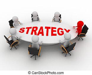Business Meeting Konzept.