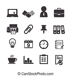 Business & Office Icons.