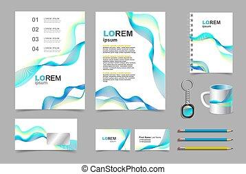 Business Präsentation infographic elements template set