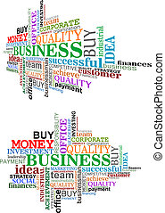 Business Tag Cloud.