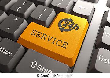 button., service, tastatur
