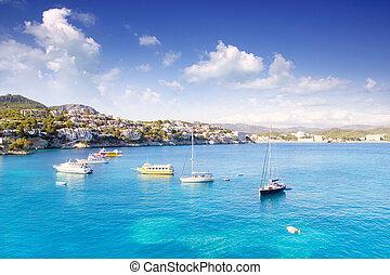 Cala fornells Majorca in mediterraner Mallorca-Insel