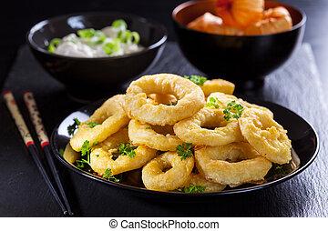 Calamari-Ringe