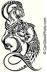 Capricorn zodiac Tattoo