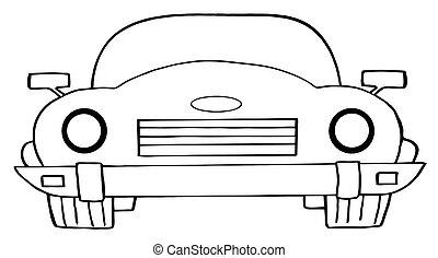Cartoon Cabrio