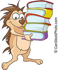 Cartoon Charakter Igel
