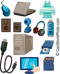 Cartoon-Computer-Ikone