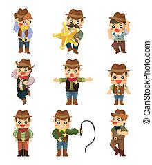 Cartoon-Cowboy-Ikone