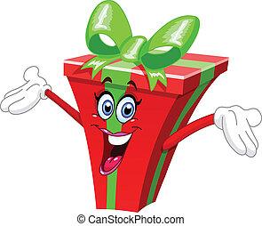 Cartoon-Geschenk