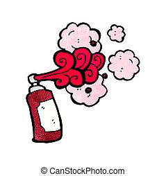 Cartoon Graffiti-Spraydose