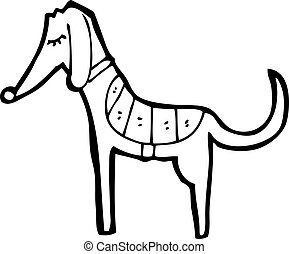 Cartoon Greyhound