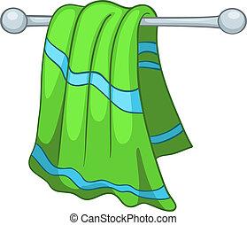 Cartoon-Haushandtücher