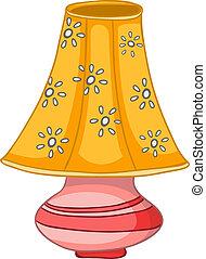 Cartoon-Heimatlampe